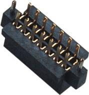 China 1.27 mm Female Header Double Row S/T W/T ﹣40℃ to +105℃ Operation Temperature wholesale