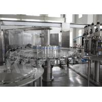 China Plastic Bottle Water Filling Machine / 3 in 1 Washing Filling Capping Machine wholesale