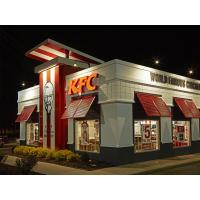 China 3D LED Whole-lit Business Painted Letter Sign For KFC wholesale