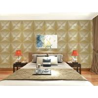 Buy cheap Embossed Wall Surface 3D Textured Wall Panels Removable Wall Sticker for Living from wholesalers