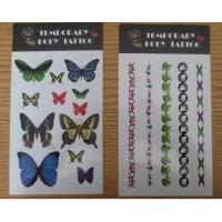 China Personalized Temporary Tattoo Stickers For Women , Water Transfer Body Arm Tattoo wholesale
