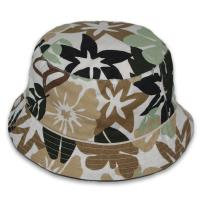 China Small Floral UV Protection Mens Floral Bucket Hat Hipster Animal Patterns wholesale