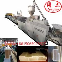 China Hegu wpc profile extrusion line concrete door frame making machine for wpc door frame on sale