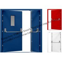 Buy cheap Galvanized Industrial Hollow Steel Fire Doors For Residential Application from wholesalers