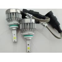 China 30W Fanless 9006 / HB4 LED Headlight COB All In One Light 3000 Lumen wholesale