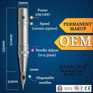 China Digital Permanent Makeup Tattoo Machine/Tattoo Kit with Gun and Makeup Pen wholesale
