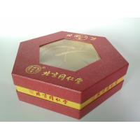 Hexagon Shape Elegant Rigid Gift Boxes, Luxury Food Packaging Box For Festival Gift