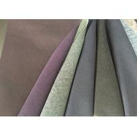 China Multi Function Double Faced Wool Fabric Anti - Static For Overcoat wholesale