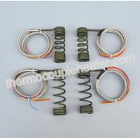 China Hot Runner Electric Heating Element Coiled Heaters With Thermocouple J, K on sale