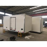 China Sinotruk Refrigerated Loads For Trucks , 6x4 Small Refrigerated Truck wholesale