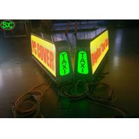 China P8 Full Color Car LED Sign Display with High Definition , Car Led Sign Screen wholesale
