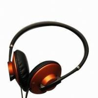 China Mobile Phone Wired Stereo Headphones for Sound Quality Over Head on sale