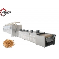 Buy cheap Yellow Mealworm Black Solider Fly Insects Microwave Drying Machine from wholesalers