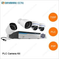 China 4 channel 720P Network night vision PLC best ip security camera systems on sale