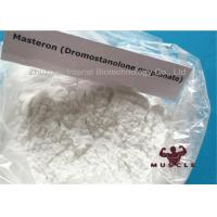 China Drostanolone Steroid Masteron Injectable Steroids Drostanolone Propionate For Bulking , CAS 521-12-0 wholesale