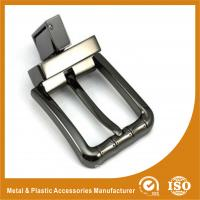 China Zinc Alloy Reversible Western Belt Buckles For MenTwo Colors Plating RE-004 wholesale