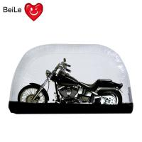 China Folding bubble transparent PVC inflatable motorcycle tent cover wholesale