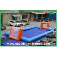 China Word Cup PVC Inflatable Sports Games , Customized Inflatable Football Pitch on sale