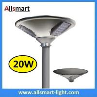 China New 20W 2000lm UFO Solar Garden Lights All In One Parking Lot Lamp Solar Energy Products With 40W Solar Panel Aluminum wholesale