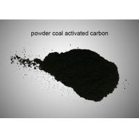 China Wastewater Decolorization Activated Charcoal Powder / Coal Based Activated Carbon wholesale