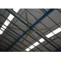 High Volume Low Speed Fan : Variable frequency drive hvls oversized ceiling fans high