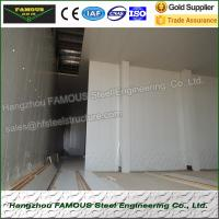 China Insulated Embossed Aluminum Polyurethane Sandwich Panel 200mm Cold Room wholesale
