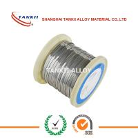 Quality Cu-Ni Alloy Ribbon ISO-TAN 2.0842 CuNi44 CuNi40 Flat Resistance Ribbon Wire 3.0x0.26mm for sale