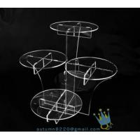 China CD (22) wedding cake stand crystal wholesale