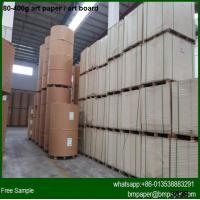 China High brightness 200g 250g 300g 350g Art card paper in China wholesale