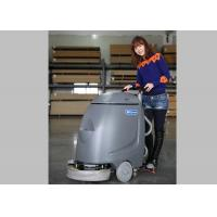 China Orange Dycon Mini Cable Floor Scrubber Dryer Machine With AC Power wholesale