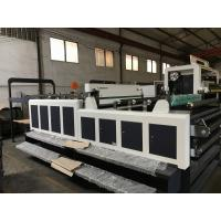China Heavy Duty Computerized Paper Cutting Machine For Cardboard 25KW wholesale