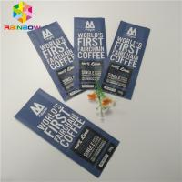 China Quad Seal Matte Finished Foil Pouch Packaging Side Gusset Coffee Bag With Valve wholesale