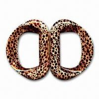 China 55mm Fashionable Clip Buckle, Comes with Leopard Design, Made of Plastic wholesale