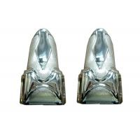 Buy cheap Silver Plastic Funeral Coffin Fitting Casket Corner With PP Material from wholesalers