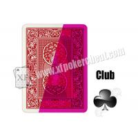 China Invisible Paper Poker Playing Cards Spy Playing Cards For Entertainment on sale
