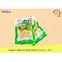 Quality Eco Frozen Fish 3 Side Sealed Vacuum Pack Storage Bags With Exquisite Gravure for sale