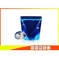 China Food Grade Tea Packaging Bags , Laminated Moisure Proof Foil Coffee Bags With Zipper wholesale