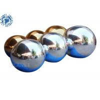 China Airtight Double Layer Disco 8m Inflatable Chrome Ball wholesale