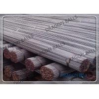 China Mining / Cement Steel Round Bar Cusomized Size Long Lasting Low Breakage Rate on sale