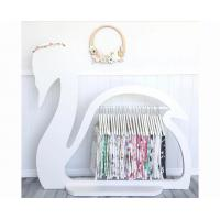 China Swan Design Childrens Wooden Clothes Rack / Elegant Kids Clothes Rack Stand wholesale