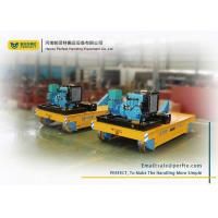 China 75T Material Handling Trolley / Electric Transfer Car Trailer For Various Occasions wholesale