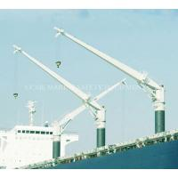 China 100 ton ship marine deck crane wholesale