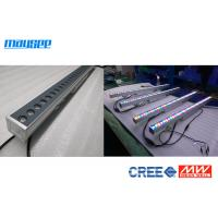 China 36Watt DMX512 IP65 CREE Linear Led Wall Washer Light With Multi Angle Lens wholesale