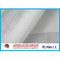China Cross Lapping 200gsm non woven medical fabric Highly absorbent Flsuahable on sale
