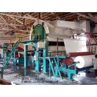 China 1760mm Single Cylinder and Single Wire toilet Tissue Paper Making Machine wholesale