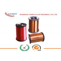 China Enamelled  Manganin Copper Nickel Wire / Heat Resistant Nickel Coated Copper Wire wholesale