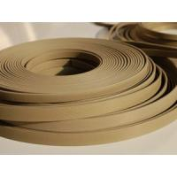China Brown PTFE Packing Guide Stripe Tape (GST) , Thickness 0.8mm , 1.0mm , 1.5mm wholesale
