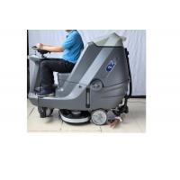 China 180L Professional Ride On Floor Sweeper Floor Cleaning Machine For Big Area wholesale