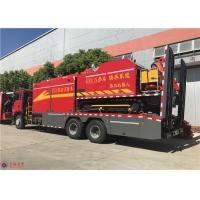 China RPM 1900R/Min 294kw Fire Fighting Truck HOWO Chassis Euro 4 Emission Standard wholesale