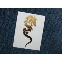China Gold Dragon Body Tattoo Sticker For Decoration on sale